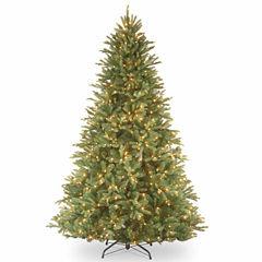 National Tree Co. 7 1/2 Foot Tiffany Fir Pre-Lit Christmas Tree