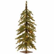 National Tree Co 3 Feet Nordic Spruce Cedar Pre-Lit Christmas Tree