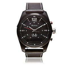 Martian Mens mVoice AE 01 Black Smart Watch-Mvr03ae011