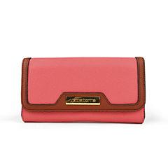 Liz Claiborne Flap Clutch Wallet