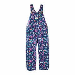 Oshkosh Floral Overalls - Baby