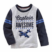 Oshkosh Boys Long Sleeve T-Shirt-Toddler