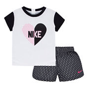Nike Short Set Girls