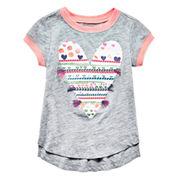 Arizona Short Sleeve T-Shirt-Toddler Girls
