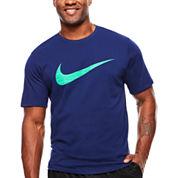 Nike Short Sleeve Crew Neck T-Shirt-Big & Tall