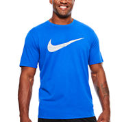 Nike Short Sleeve Crew Neck T-Shirt-Big & Tall