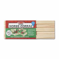 Melissa & Doug® Wooden Horse Corral