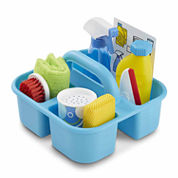 Melissa And Doug 9-Pc. Housekeeping Spray Squirt  Squeegee Play Set Toy