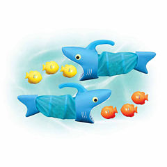 Melissa And Doug 8-Pc. Playground Spark Shark Fish Hunt Balls