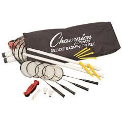 Champion Sports Deluxe 15-pc. Badminton Set