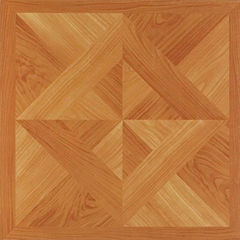 Nexus Classic Light Oak Diamond Parquet 12x12 Self Adhesive Vinyl Floor Tile - 20 Tiles/20 Sq Ft.