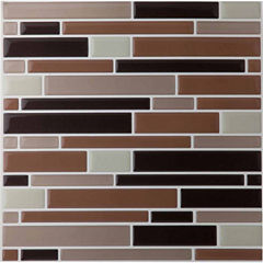 Magic Gel Beige 9.125x9.125 Self Adhesive Vinyl Wall Tile - 1 Tile.82 Sq Ft.