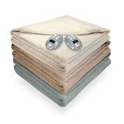 Safe And Warm Velvet Plush Heated Plush Electric Blanket