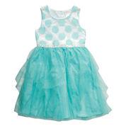 Young Land Sleeveless Party Dress - Preschool