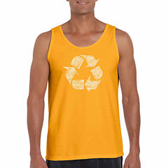 Los Angeles Pop Art Tank Top Big and Tall