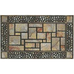 Patio Stones Rectangular Doormat