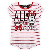 Disney Apparel by Okie Dokie Minnie Mouse Bow Tee, Skort or Leggings - Preschool Girls 4-6x