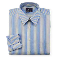 Stafford® Travel Easy-Care Broadcloth Dress Shirt - Big & Tall