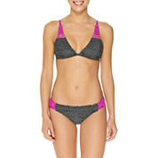 Ambrielle Macrame Triangle Top and Macrame Hipster Bottoms