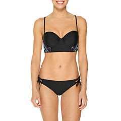 Ambrielle Embroidery Side Midkini or Macrame Side Tie Hipster