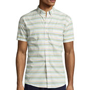Arizona Short-Sleeve Printed Poplin Shirt
