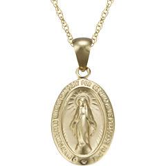 Miraculous Pendant 10K Gold Necklace