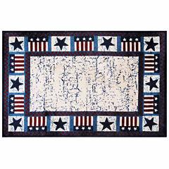 Stars & Flags Rectangular Rugs