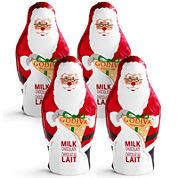Godiva Milk Chocolate Santas