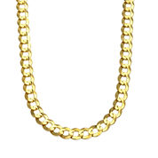 10K Gold 30 Inch Chain Necklace