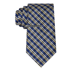 J.Ferrar Navy Ground Grid Tie With Tie Bar