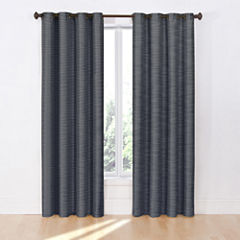 Eclipse Deron Blackout Grommet-Top Curtain Panel