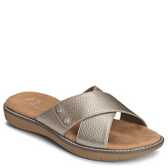 A2 by Aerosoles Cool Breeze Womens Slide Sandals