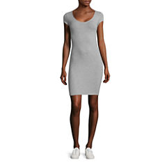 Decree Cross Back Bodycon Dress - Juniors