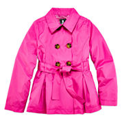 S Rothschild Girls Raincoat-Big Kid
