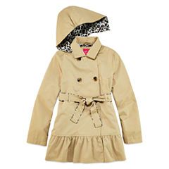 Pink Platinum Classic Trench Raincoat