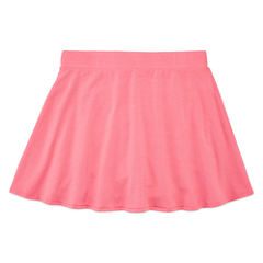 Total Girl Jersey Skater Skirt - Big Kid Girls