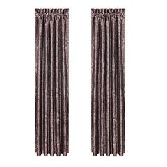 Queen Street Bellissa 2-Pack Rod-Pocket Curtain Panel