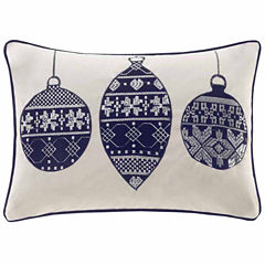 Madison Park Velvet Ornament Oblong Throw Pillow
