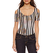 Bisou Bisou Cold Shoulder Bodysuit