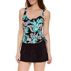 Le Cove Paisley Swim Dress