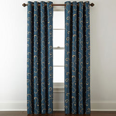 Royal Velvet® Plaza Embroidery Window Treatments