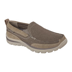 Skechers® Milford Men's Moc-Toe Slip-On Shoes