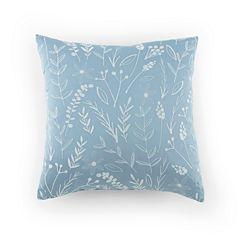 Kathy Davis Tranquility Square Throw Pillow