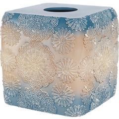 Popular Bath Fallon Tissue Box Cover