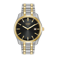 Citizen® Eco-Drive® Mens Two-Tone Stainless Steel Watch AU1044-58E