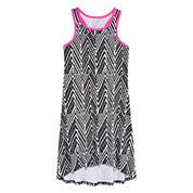 Total Girl® Racerback High-Low Hem Dress - Girls 7-16