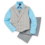 Steve Harvey® 4-pc. Suit Set - Preschool Boys 4-7