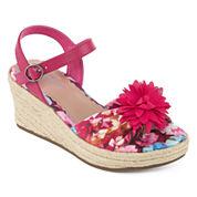 Arizona Elinor Girls Wedge Sandals