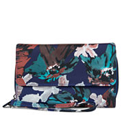 Mundi Big Fat Wallet Indigo Floral