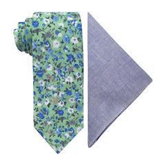 Stafford Floral Tie Set
